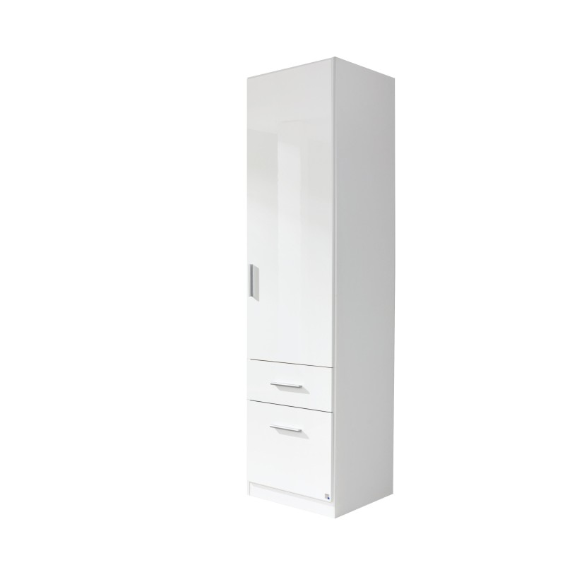 huge selection of f158e f5029 Single door white glossy wardrobes on sale Cheap London