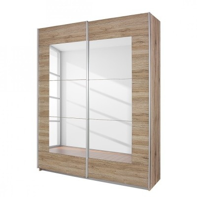Rauch Sliding door wardrobe Alpha Oak 181