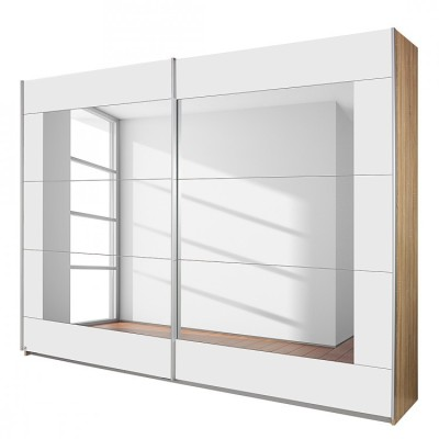 Rauch Sliding door wardrobe Alpha White 270