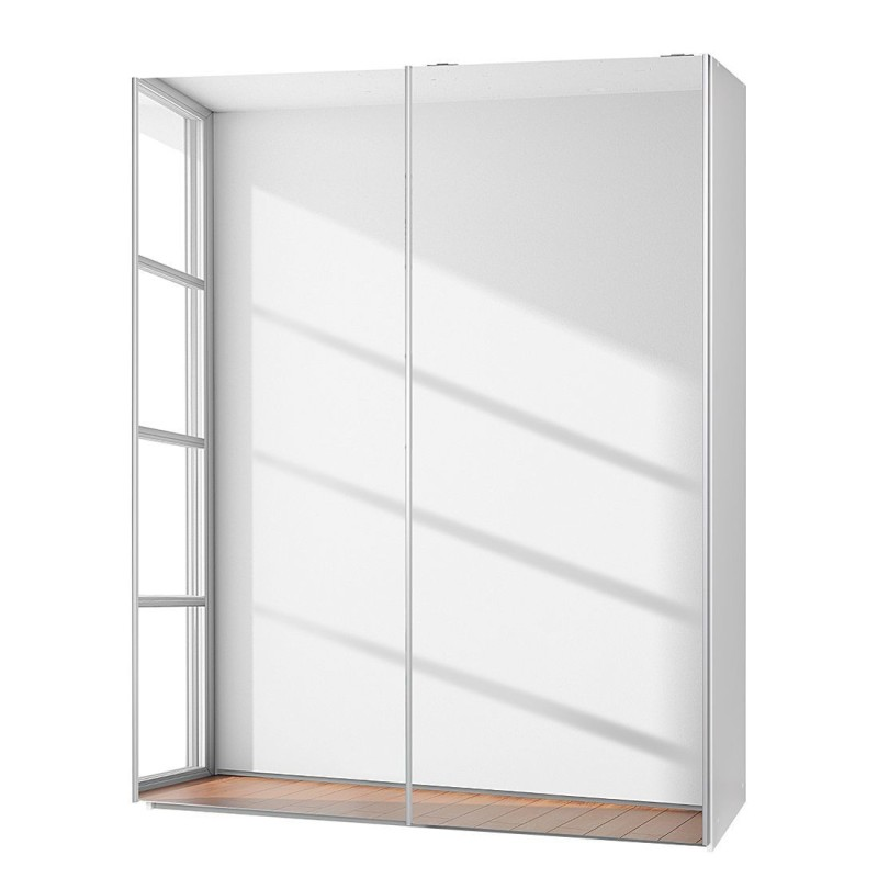 Fully mirrored sliding door wardrobes on sale london - Armoire porte coulissante miroir ikea ...