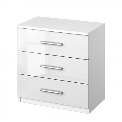 Celline 3 Drawer Bedside Chest
