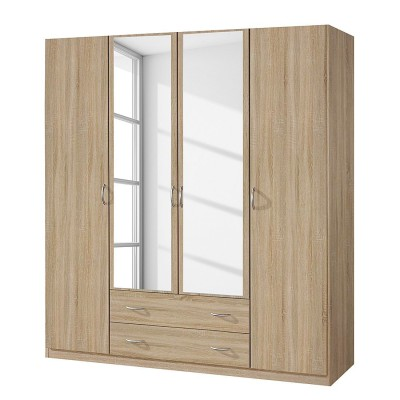 Rauch Alpha 4 Door 2 Drawer Wardrobe