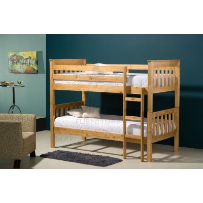 Pine Wooden Bunk Bed