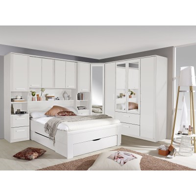 Revina overbed wardrobe system