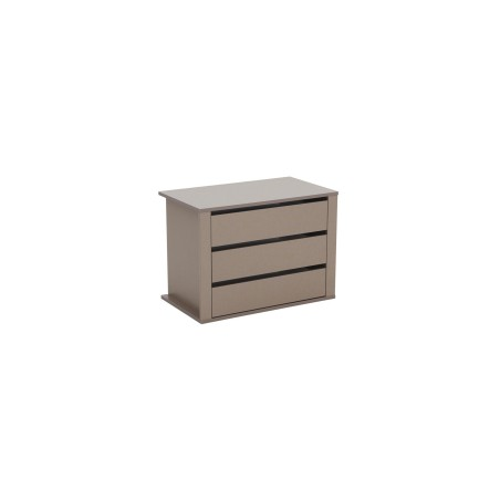 Lima Imperial Internal 3 drawer chest wide 98cm