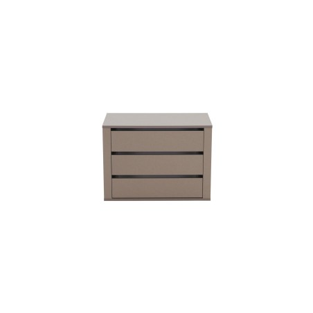 Lima Imperial Internal 3 drawer chest wide 88cm