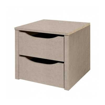 Wardrobe 2 drawer Internal Chests Small 45cm
