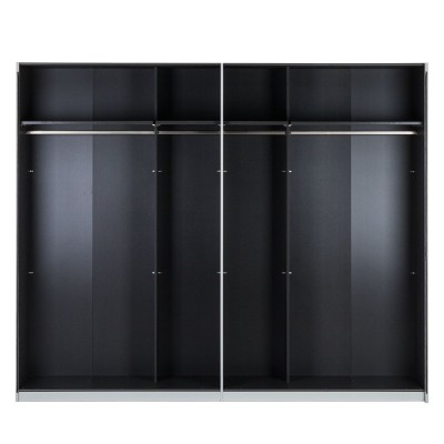 Milan High Gloss Sliding Door Wardrobe