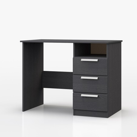 Waterfall Dressing Table Graphite