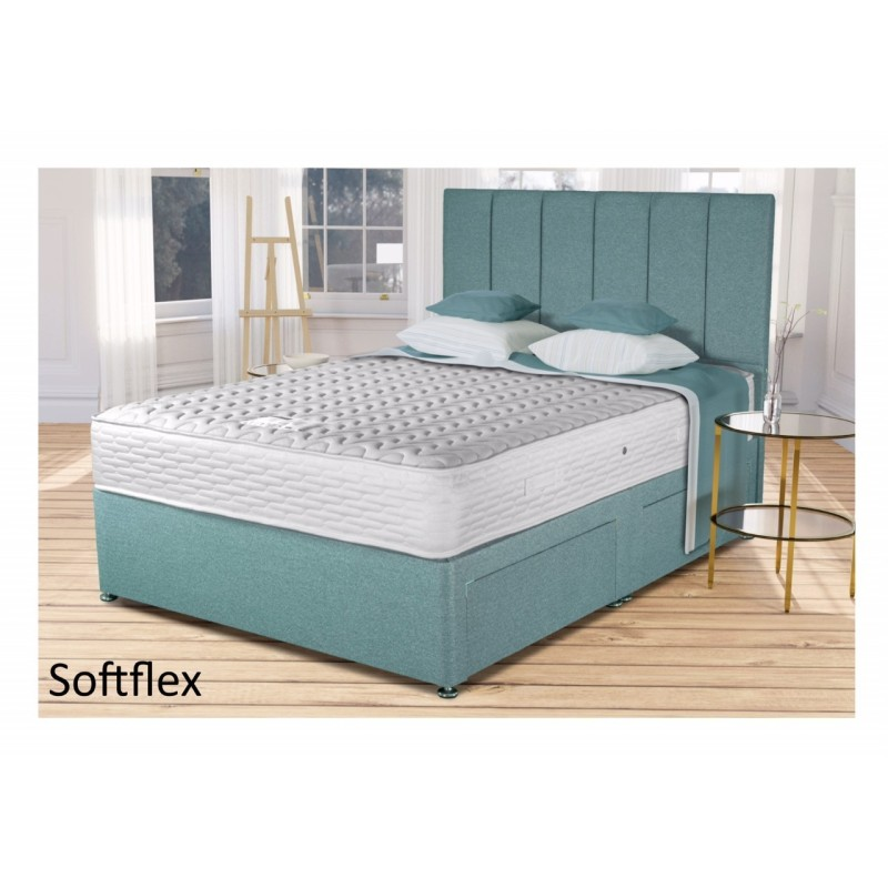 Soft Flex No Springs Bed  By Siesta Beds