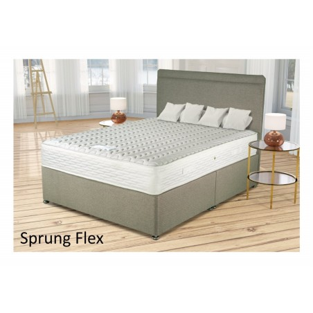Sprung flex Spring and Memory Foam Bed  By Siesta Beds