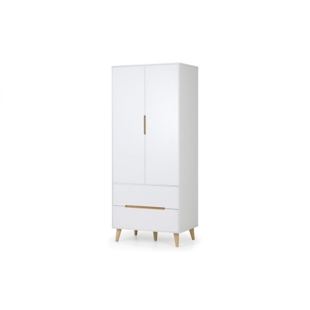 SET OF ALICIA 2 X BEDSIDES, 5 DRAWER CHEST & COMBI WARDROBE