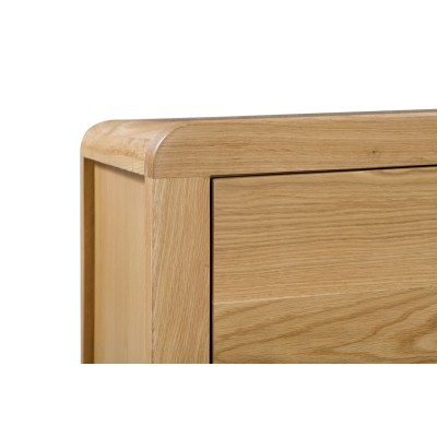 CURVE 6 DRAWER WIDE CHEST