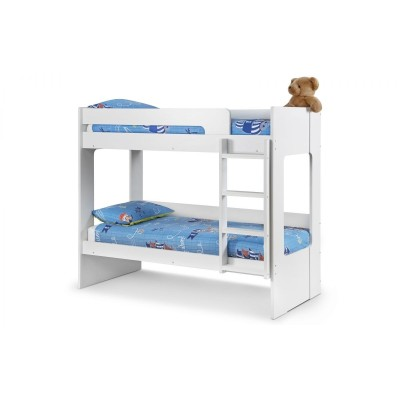 ELLIE BUNK BED  ALL WHITE