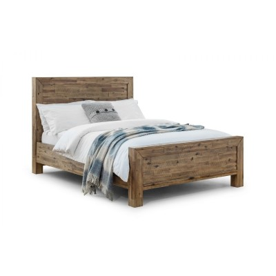 HOXTON BED SOLID HARDWOOD BED