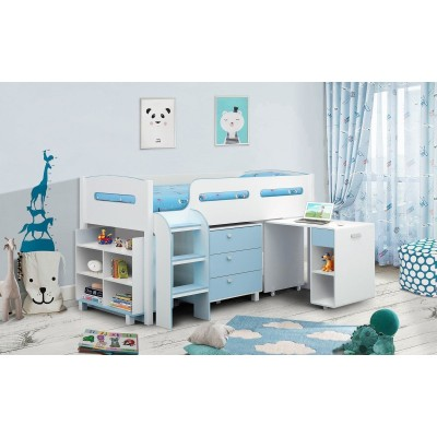 KIMBO BLUE CABIN BED