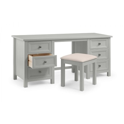 MAINE DRESSING TABLE - DOVE GREY SET
