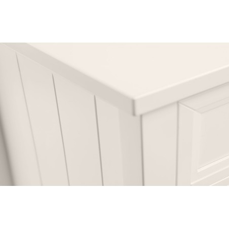 MAINE 5 DRAWER TALL CHEST - DOVE GREY