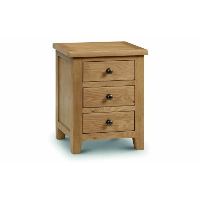 MARLBOROUGH 3 DRAWER BEDSIDE