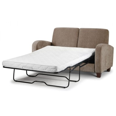 VIVO SOFABED IN MINK CHENILLE FABRIC