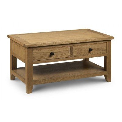 ASTORIA COFFEE TABLE WITH 2 DRAWERS