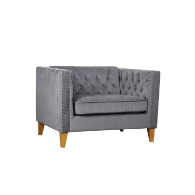 Florence Snuggle Chair Grey...