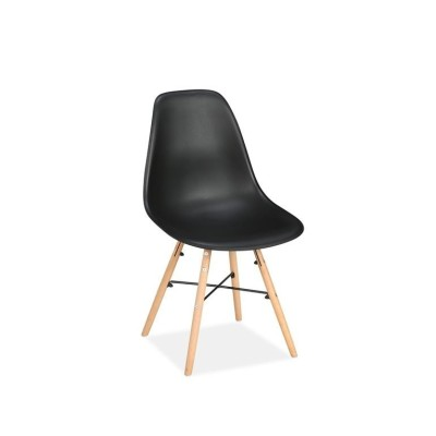 Pair of Hex Chairs Black