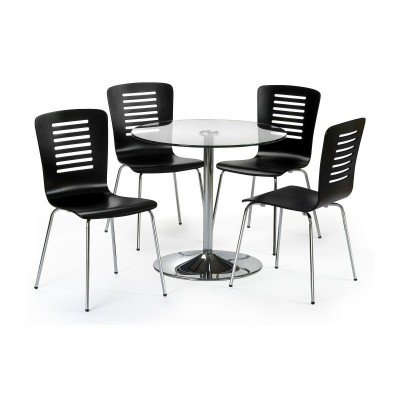 SET OF KUDOS TABLE AND 4 CHAIRS