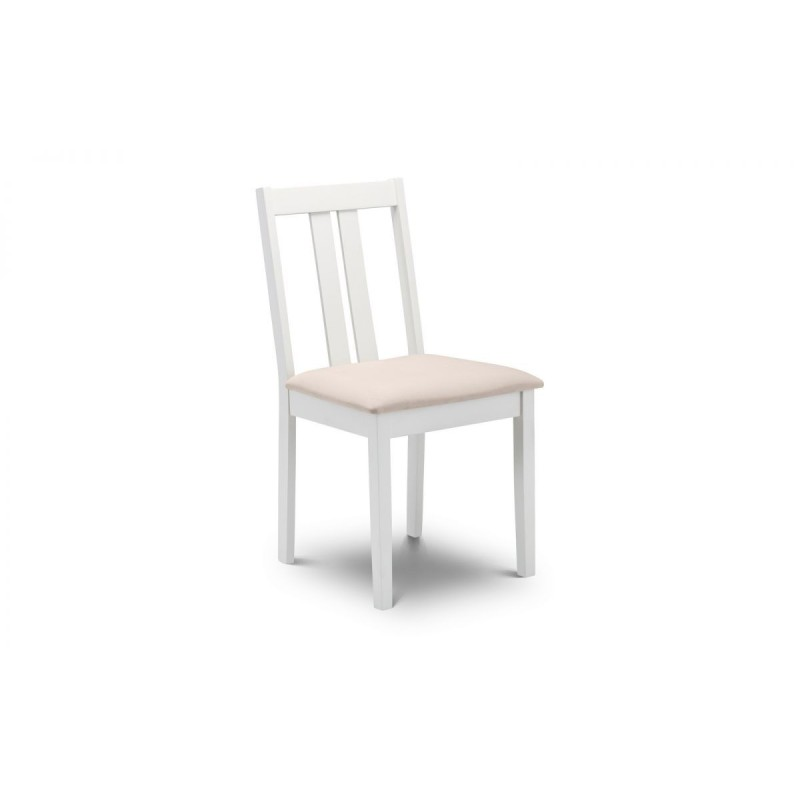 SET OF 4 RUFFORD IVORY CHAIRS