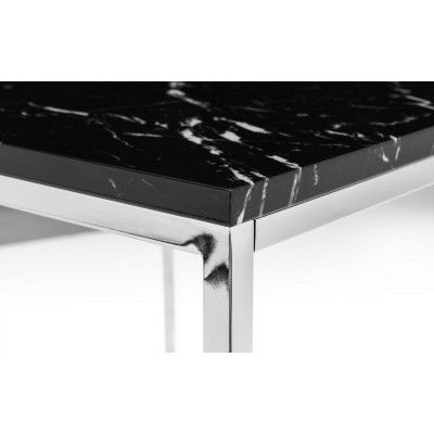 SCALA BLACK MARBLE CONSOLE TABLE
