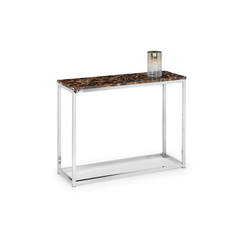 SCALA BRONZE MARBLE CONSOLE TABLE
