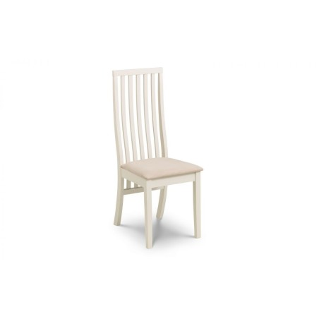 SET OF 4 VERMONT DINING CHAIRS I- IVORY