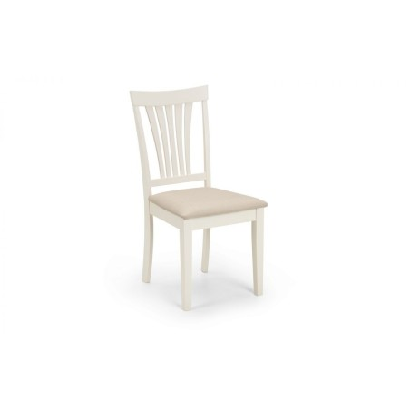 SET OF 4 STAMFORD IVORY CHAIRS