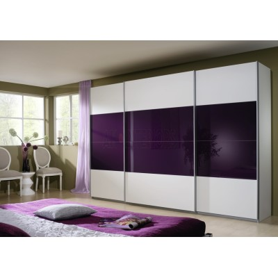 Rauch Quadra 315 Purple and White