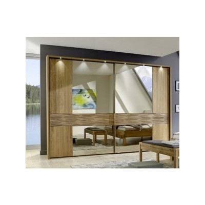 Amalfi 2 Door Slider Wiemann Alder Finish