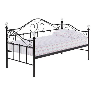 Florence Day Bed Black (Trundle sold separately)