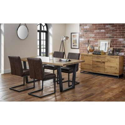 SET OF BROOKLYN TABLE & 4 CHAIRS