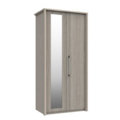 Burford 2 Door Wardrobe With Mirror