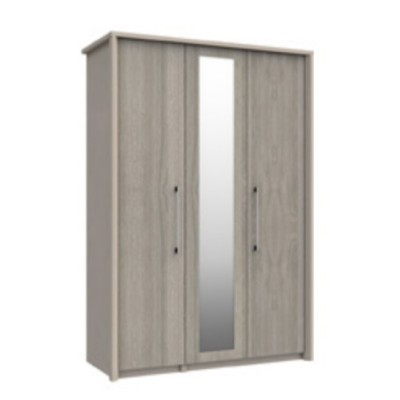 Burford 3 Door Wardrobe With Mirror