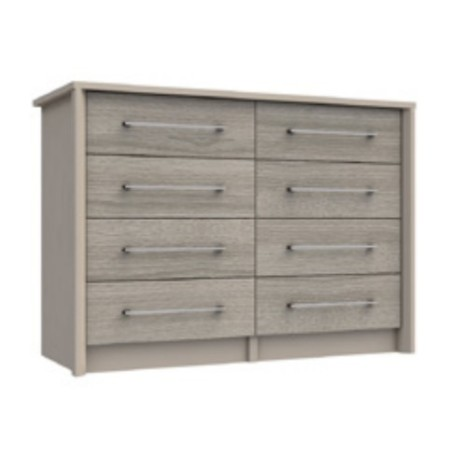 Burford 4 Drawer Double Chest