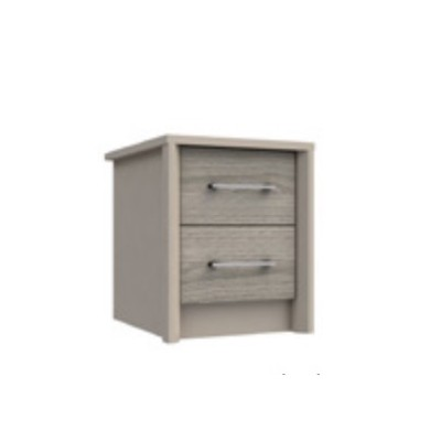 Burford 2 Drawer Bedside