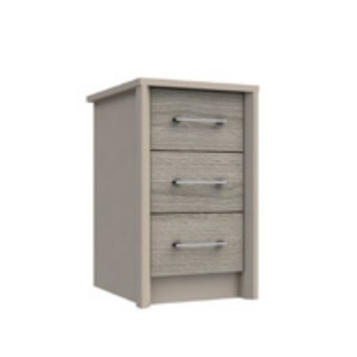 Burford 3 Drawer Bedside