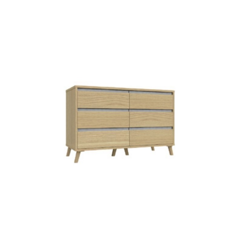 Tamar 3 Drawer Double Chest