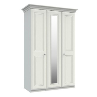 Hadleigh Tall 3 Door Wardrobe With Mirror