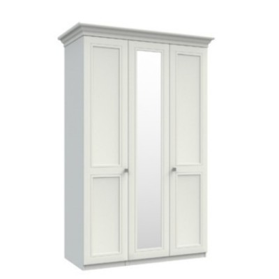 Canterbury 3 Door Wardrobe with Mirror