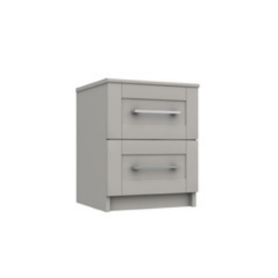 Calder 2 Drawer Bedside