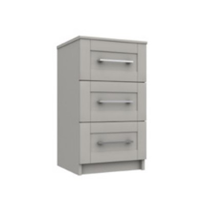 Calder 3 Drawer Bedside