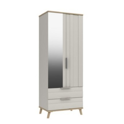 Derwent 2 Door combi Wardrobe With Mirror
