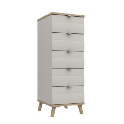 Derwent 5 Drawer Tallboy