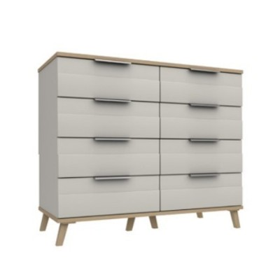 Derwent 4 Drawer Double Chest